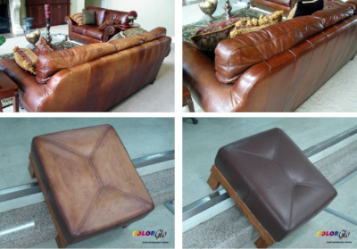 Color Glo, examples of furniture that has been restored/repaired.