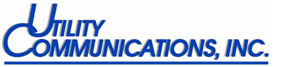 Utility Communications Inc logo.