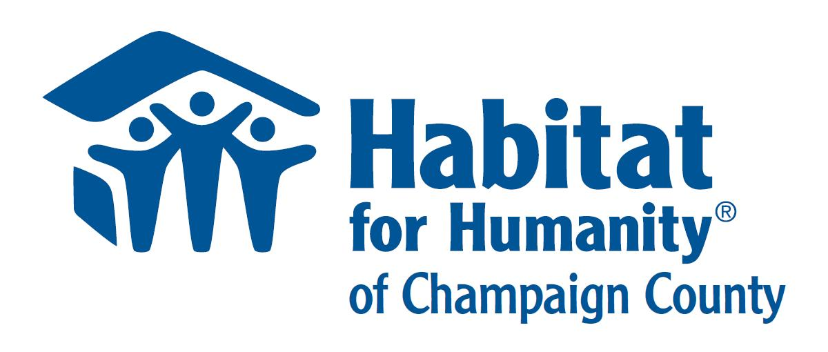 Habitat for Humanity of Champaign County logo.