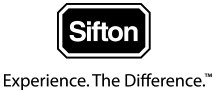 Sifton, Experience. The Difference. logo.