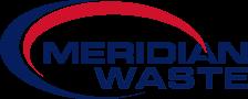 Meridian Waste logo.