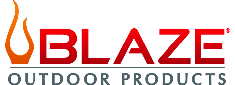 Blaze Outdoor Products logo.