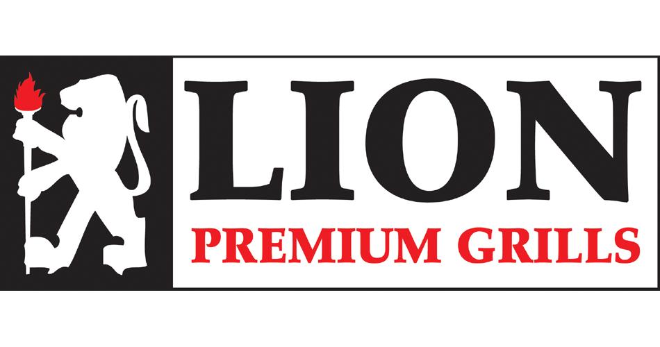 Lion Premium Grills logo.