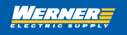 Werner Electric Supply logo.