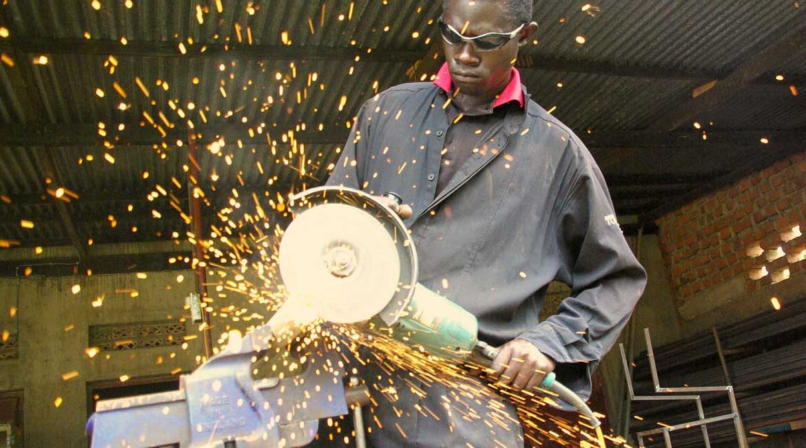 Training the Next Generation of Iron and Steel Workers