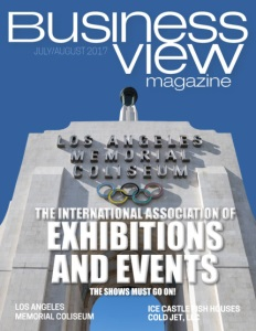 July 2017 Issue cover Business View Magazine.