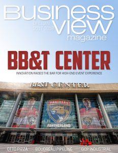 December 2017 Issue cover Business View Magazine.