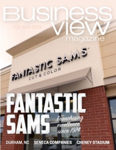 February 2018 Issue cover Business View Magazine.
