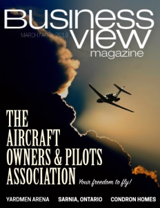 March 2018 Issue cover Business View Magazine.