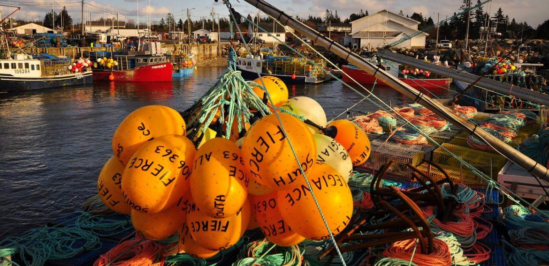 Municipality of Argyle fisherman boat.