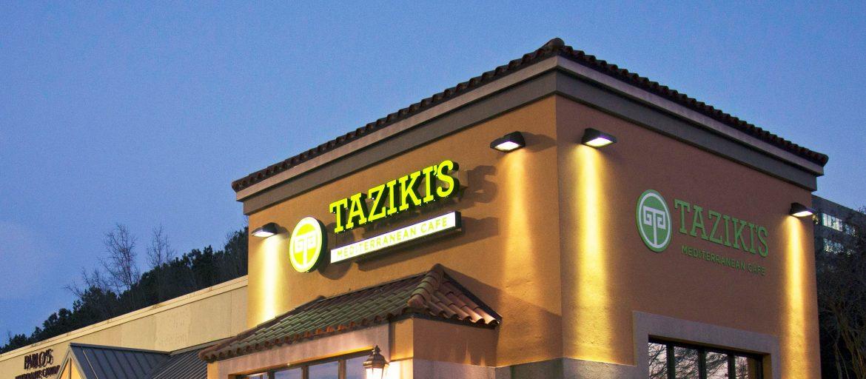 Taziki's Mediterranean Café building.