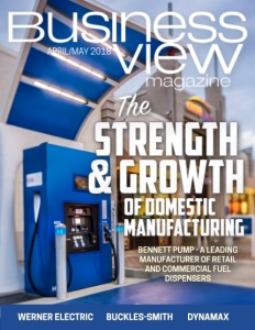 April 2018 Issue cover Business View Magazine.