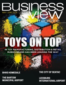 May 2018 Issue cover Business View Magazine.