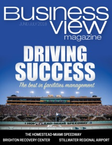 June 2018 Issue cover Business View Magazine.