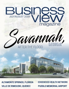 July 2018 issue cover for Business View Magazine