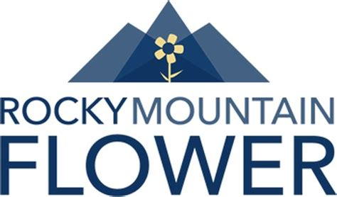 Rocky Mountain Flower logo