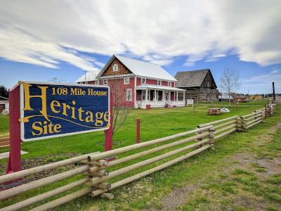 Cariboo Regional District British Columbia's 108 mile house heritage site.