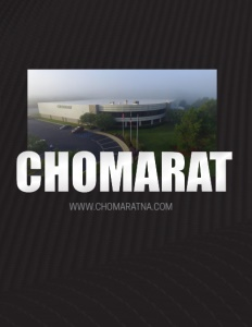 Chomarat North America brochure cover.
