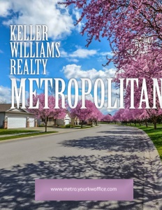 Keller Williams Realty Metropolitan brochure cover.