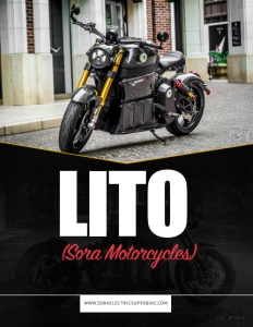 Lito (Sora Motorcycles) brochure cover.