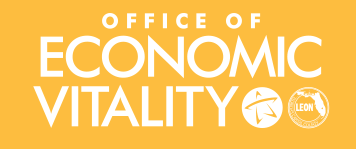 Office of Economic Vitality logo.
