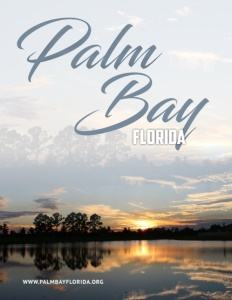 Palm Bay Florida brochure cover.