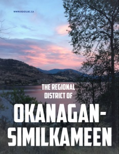 Regional District Okanagan Similkameen brochure cover.