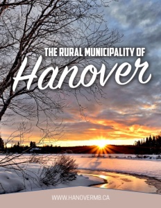 Rural Municipality of Hanover brochure cover.