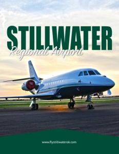 Stillwater Regional Airport brochure cover.