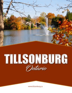 Tillsonburg Ontario brochure cover.
