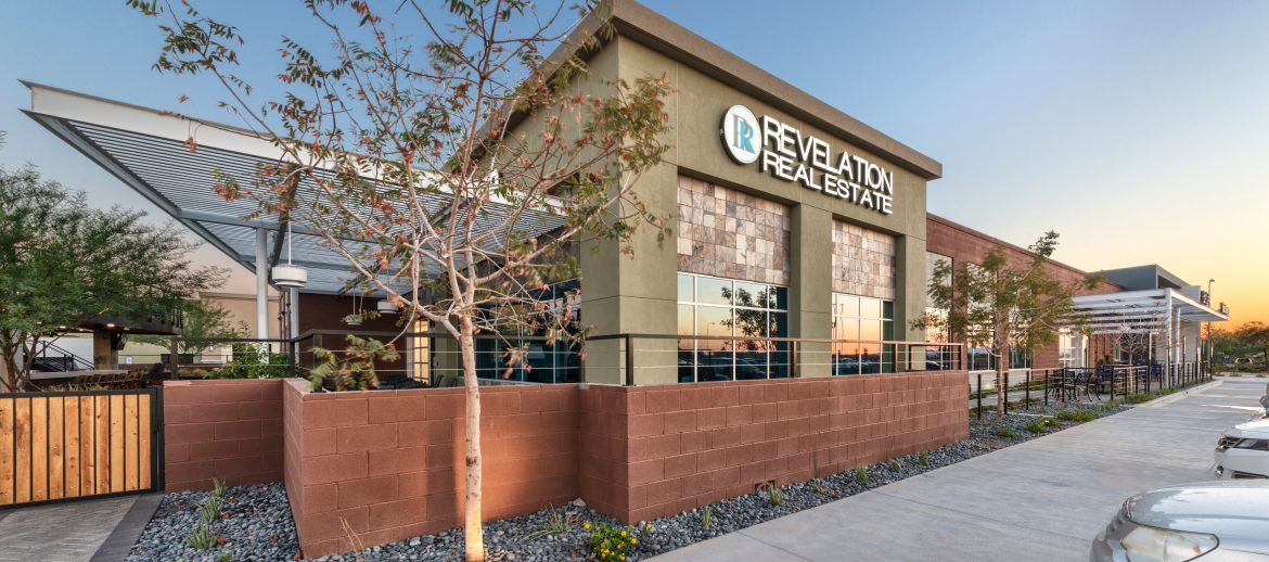 Revelation Real Estate Chandler Arizona office building.