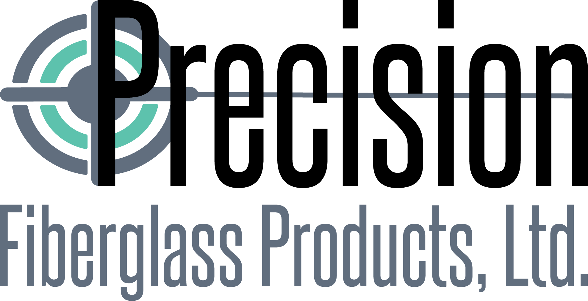 Precision Fiberglass Products, Ltd. logo.