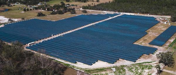 Bartow Florida Solar Farm.