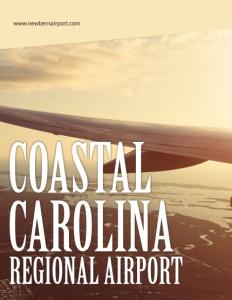 Coastal Carolina Regional Airport brochure cover.