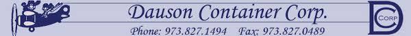 Dauson Container Corp logo.