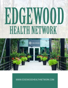 Edgewood Health Network brochure cover.