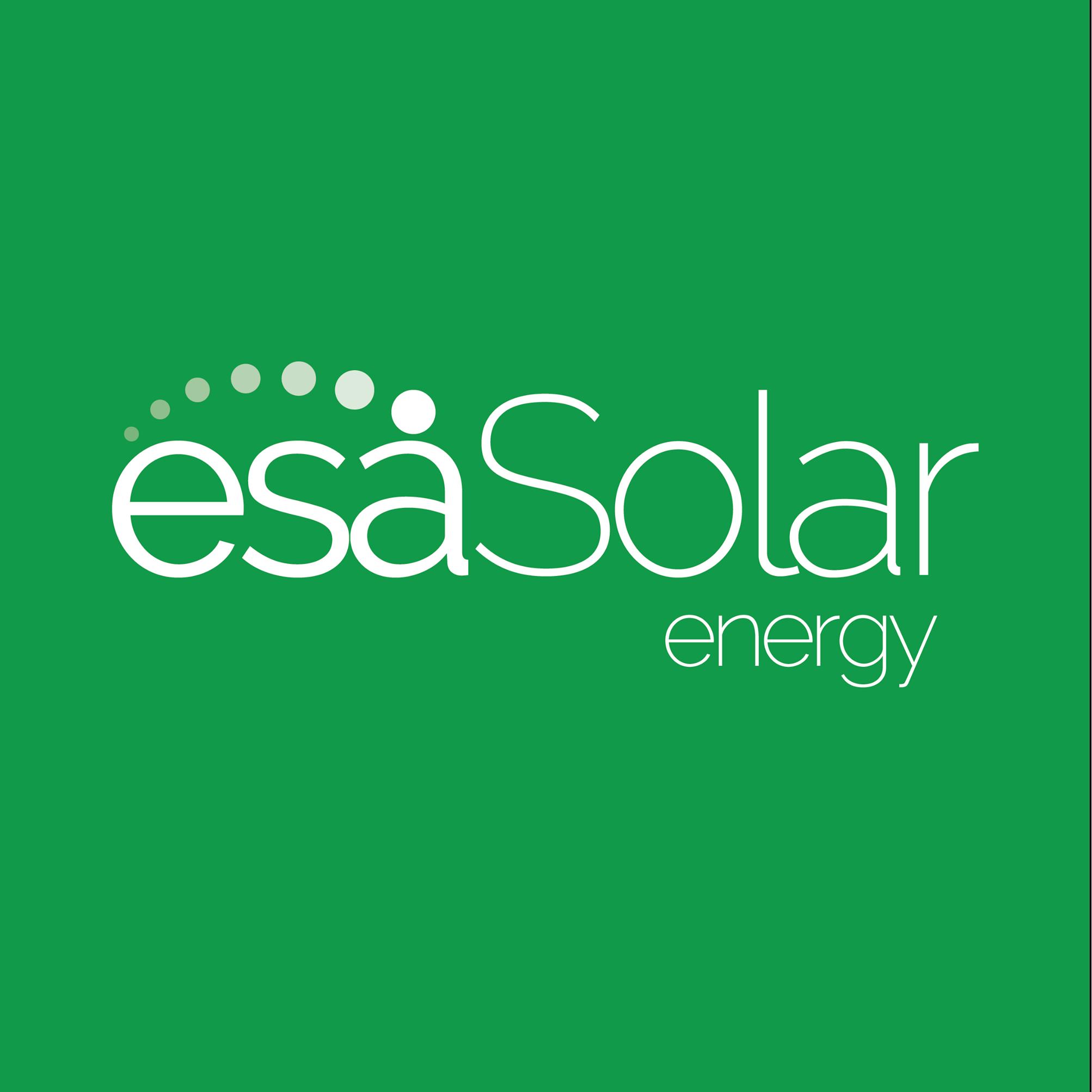 esa Solar energy logo.