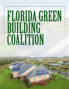 Florida Green Building Coalition brochure cover.
