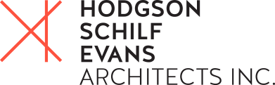 Hodgson Schilf Evans Architects Inc logo.