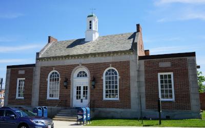 Hyattsville, Maryland Historic Post Office.