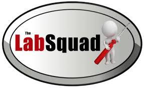 Lab Squad logo.