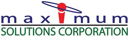 Maximum Solutions Corporation logo.