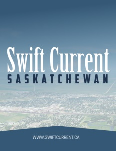 Swift Current Saskatchewan brochure cover.