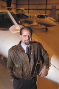Doug Hammon, Airport Director for the Ohio State University Airport.