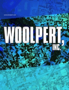 Woolpert Inc brochure cover.