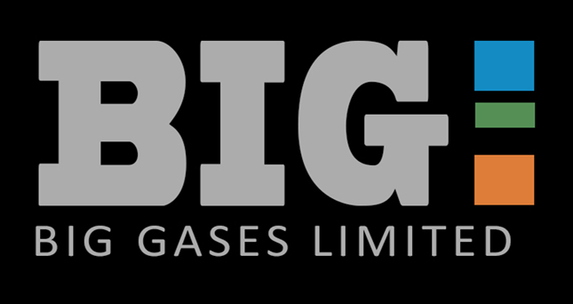 Big Gases Limited logo.
