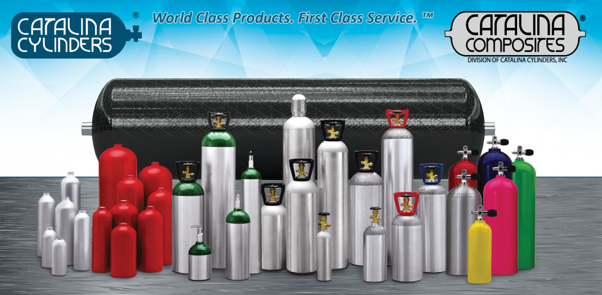 Catalina Cylinders product lineup.