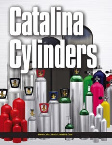 Catalina Cylinders brochure cover.