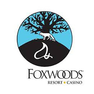 Foxwoods Resort and Casino logo.