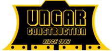 G. Ungar Construction logo. Since 1983